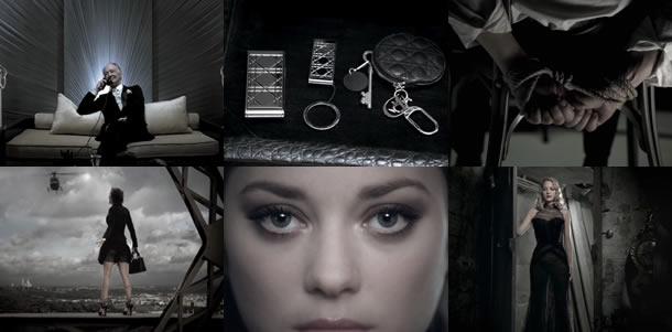 Diors Oscar-vindende darling, Marion Cotillard, indspiller ny kortfilm med David Lynch og Galliano