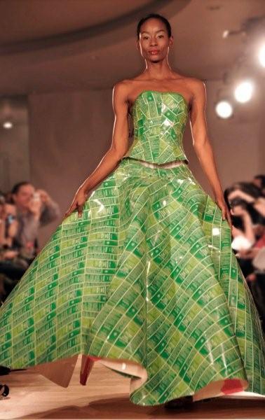 Grøn skal det være...Gary Harvey Skin Food Dress