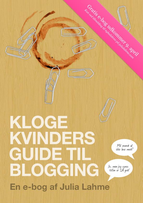 Hvis du vil blotte din indre blogger er how-to-guiden her...helt gratis