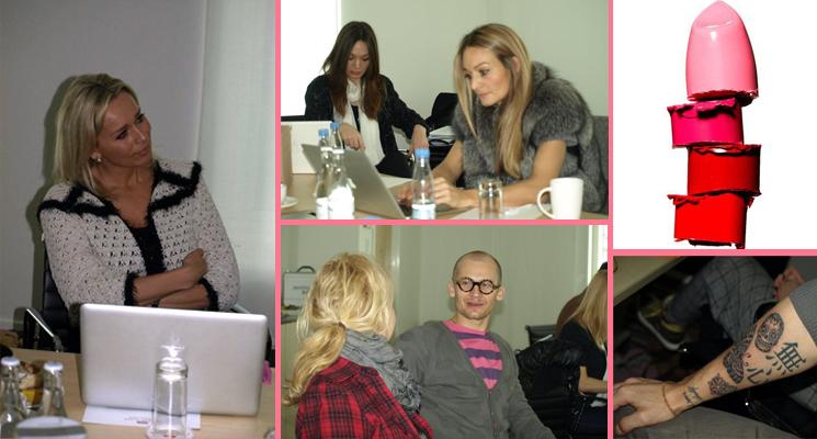 Beundringsværdige underarme, koncentrerede miner og masser af god læbestiftsnak. Nomineringsmøde i Danish Beauty Award 2010.