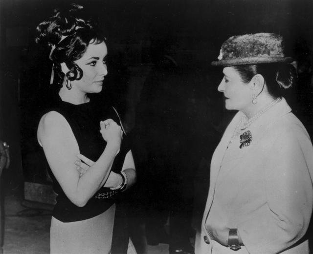 HR og Elizabeth Taylor